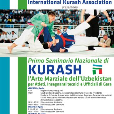 24-25-26 Aprile 2015 Caserta – 1°Seminario Nazionale di Kurash