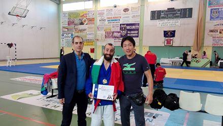 European Kurash Championships  medaglia d'argento perla FIKU